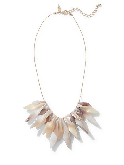 Twist-Detail Statement Necklace  - New York & Company