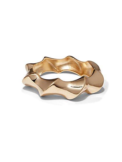 Twist Hinge Bracelet  - New York & Company