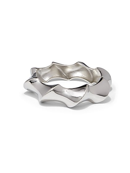 Twist Hinge Bracelet  - New York & Company