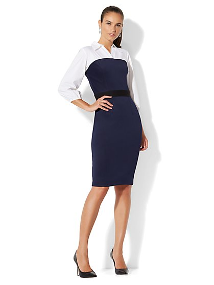 Twofer Sheath Dress - New York & Company