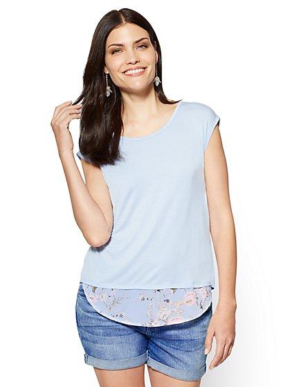 Twofer T-Shirt - New York & Company