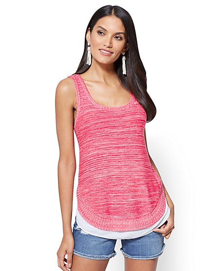 Twofer Tank Top - New York & Company