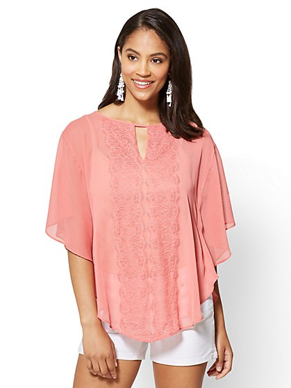 V-Neck Topper - New York & Company