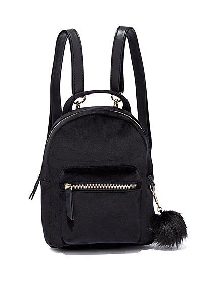 Velvet Mini Backpack  - New York & Company