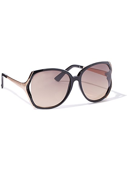 Vented-Frame Sunglasses  - New York & Company
