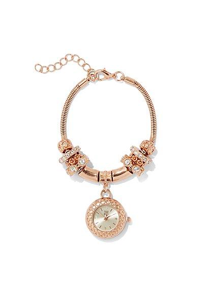 Watch Charm Bracelet - New York & Company