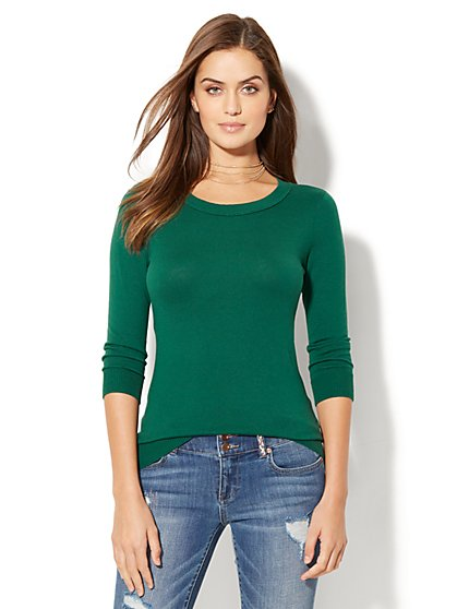 Waverly Crewneck Sweater - New York & Company