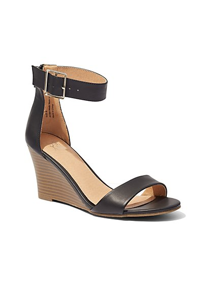 Wedge-Heel Sandal  - New York & Company
