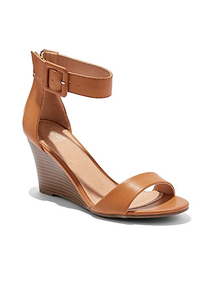 Wedge-Heel Sandal  - New York & Company