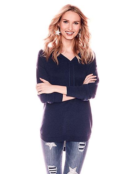 Weekend Hoodie Sweater - New York & Company