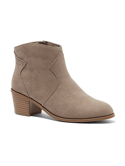 Western Ankle Boot - New York & Company