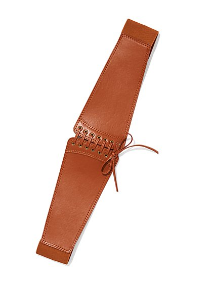 Whipstitch Corset Belt  - New York & Company