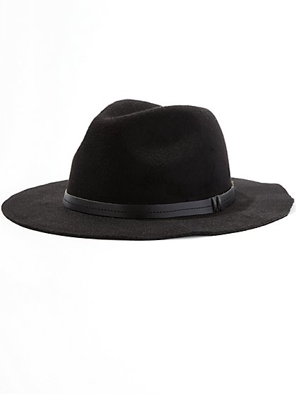 Wide-Brim Floppy Hat  - New York & Company