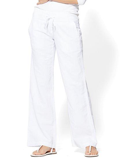 Wide-Leg Drawstring Pant - New York & Company