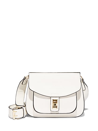 Wide-Strap Satchel  - New York & Company
