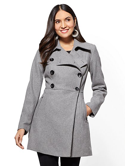 Wool Peacoat - New York & Company