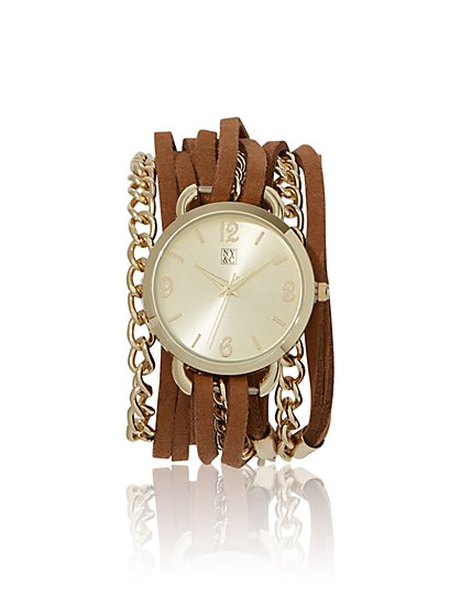 Wrap Bracelet Watch  - New York & Company
