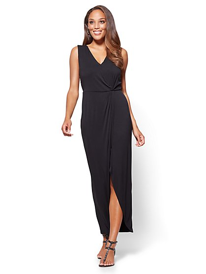 Wrap Maxi Dress - New York & Company