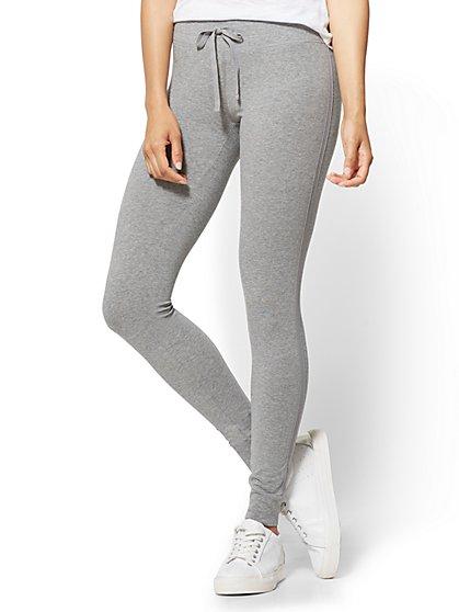 Yoga Legging - Grey  - New York & Company