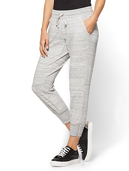 Zip-Accent Jogger Pant - New York & Company