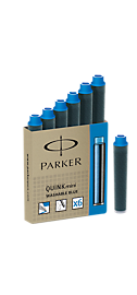 Quink Mini Cartridge - Blue