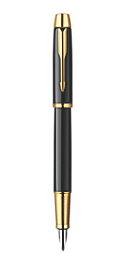 IM Black Fountain Pen - Medium stainless steel nib