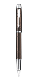 IM Premium Metallic Brown Fountain Pen - Medium stainless steel nib