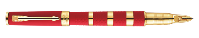 Ingenuity Large Red Rubber and Metal Parker 5THTM