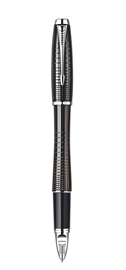 Urban Premium Metallic Black Chiselled with Parker 5TH<sup>TM</sup>