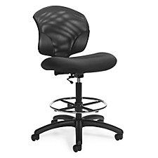 Tye Armless Mesh Back Drafting Stool, CH51700