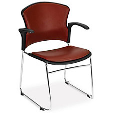 MultiUse Antimicrobial Vinyl Stack Chair, CH51787