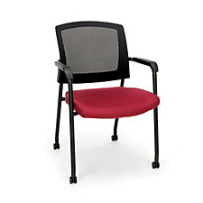 Parker Mesh Back Guest Chair with Casters, CH51922