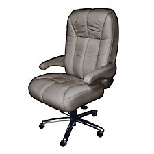Newport Big and Tall Genuine Italian Leather Office Chair, CH51867