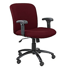Fabric Big and Tall Task Chair with Arms, CH02477