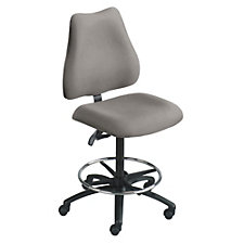 Heavy-Duty Big and Tall Armless Drafting Stool, CH03294