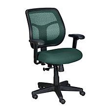 Apollo Mesh and Fabric Mid-Back Ergonomic Chair, CH51724