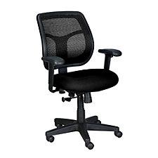 Apollo Mesh and Fabric Mid-Back Ergonomic Chair, CH02909
