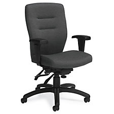 Synopsis Fabric Medium Back Ergonomic Task Chair, CH51708