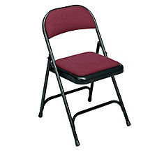 Folding Chair with Padded Seat and Back, CH01144