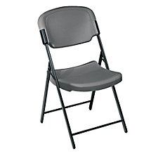 Lightweight Plastic Folding Chair with Contoured Seat, CH01153