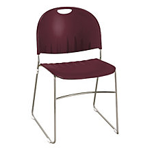 Polypropylene Stack Chair with Sled Base, CH03031