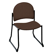 Heavy-Duty Fabric/Vinyl Guest Chair without Arms, CH01274