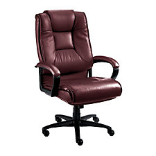 Work Smart Tufted Leather Executive Chair, CH01315