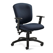 Supra X Fabric Medium Back Ergonomic Task Chair, CH51711
