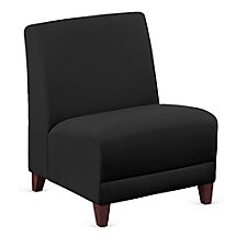 """Fabric Armless Oversized Guest Chair - 25""""W, CH51522"""