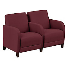 """Parkside Two Seater with Center Arm - 51.5""""W, CH51526"""