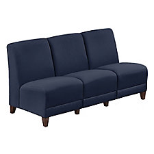 "Armless Sofa in Fabric - 64.5""W, CH51527"