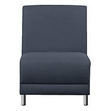 """Faux Leather or Patterned Fabric Armless Guest Chair - 31""""W, CH51532"""