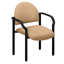 Stackable Guest Chair in Fabric or Polyurethane, CH01580