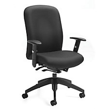 TruForm Fabric High Back Computer Chair, CH51712